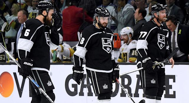 The Los Angeles Kings are only going downhill from here. (Photo by Harry How/Getty Images)