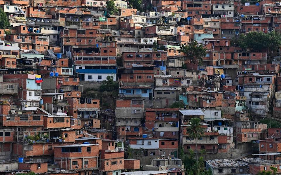 View of San Andres neighbourhood in south west Caracas - FEDERICO PARRA/AFP via Getty Images
