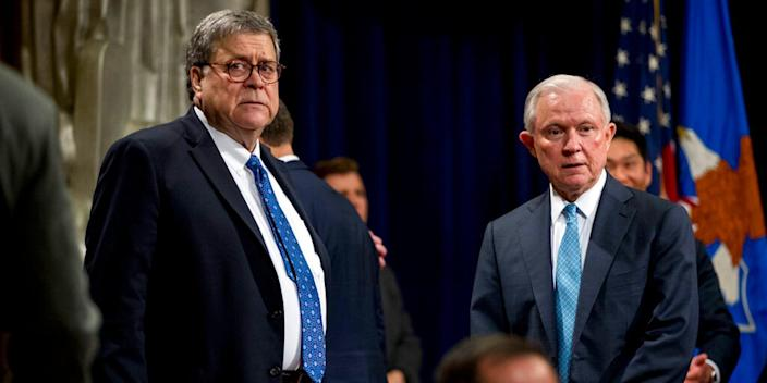 Barr and Sessions