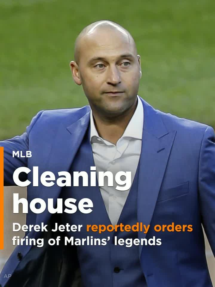 Derek Jeter reportedly orders firing of Marlins legends and two Hall of Famers.