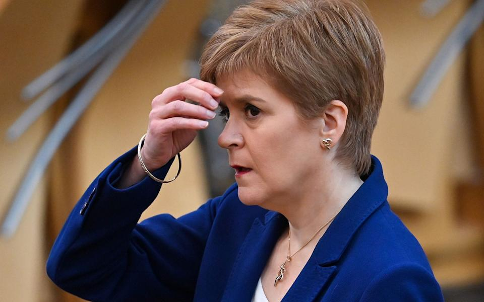 Nicola Sturgeon has said it is too early to say what rules will be in place - Jeff J Mitchell/AFP