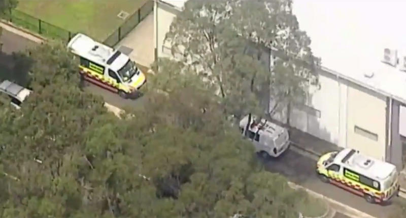 Eight teens stabbed with syringe at Sydney school during 'prank'