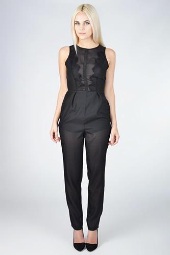 "<div class=""caption-credit""> Photo by: Finders Keepers</div><div class=""caption-title""></div><b>Finders Keepers</b> Firehouse Jumpsuit, $165, available at <a rel=""nofollow"" href=""http://www.refinery29.com/rompers"" target=""_blank"">Collective Habit</a>."
