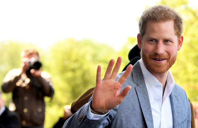 The Duke of Sussex at Oxford Children's Hospital [Photo: PA]