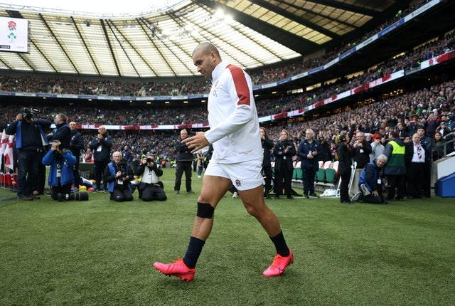 Jonathan Joseph is eager to get back in his England kit.