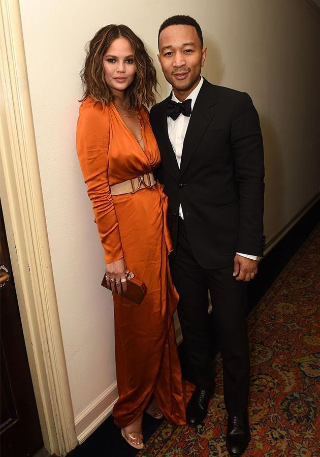 Chrissy and John went to <i>GQ</i> and Chance The Rapper's bash at Chateau Marmont. Photo: Getty Images