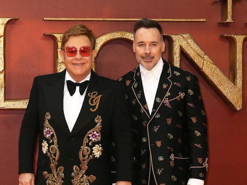 Elton John's mother tried to ruin his civil ceremony with David Furnish
