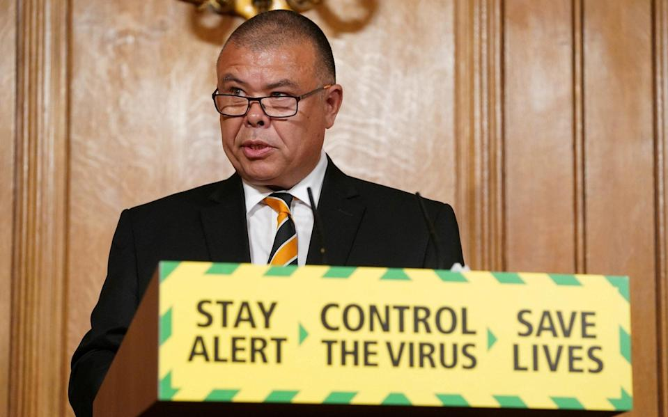Professor Jonathan Van-Tam, the deputy chief medical officer, said it was crucial to vaccinate as many people as possible against flu - Pippa Fowles/Reuters