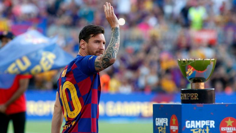 Lionel Messi, una vez más candidato a un premio. (Photo by TF-Images/Getty Images)