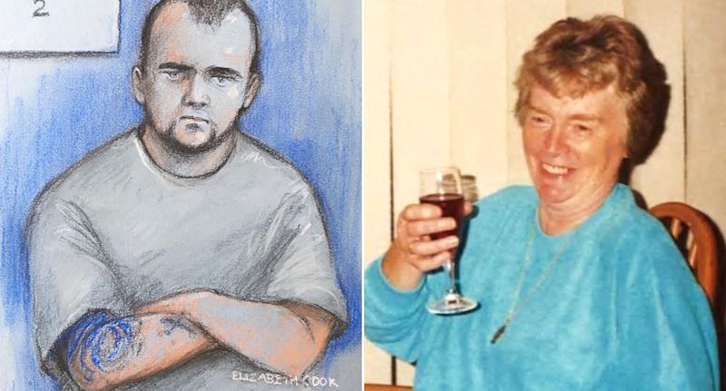 Reece Dempster, left, is accused of raping Dorothy Woolmer, right. (PA Images/Elizabeth Cook)