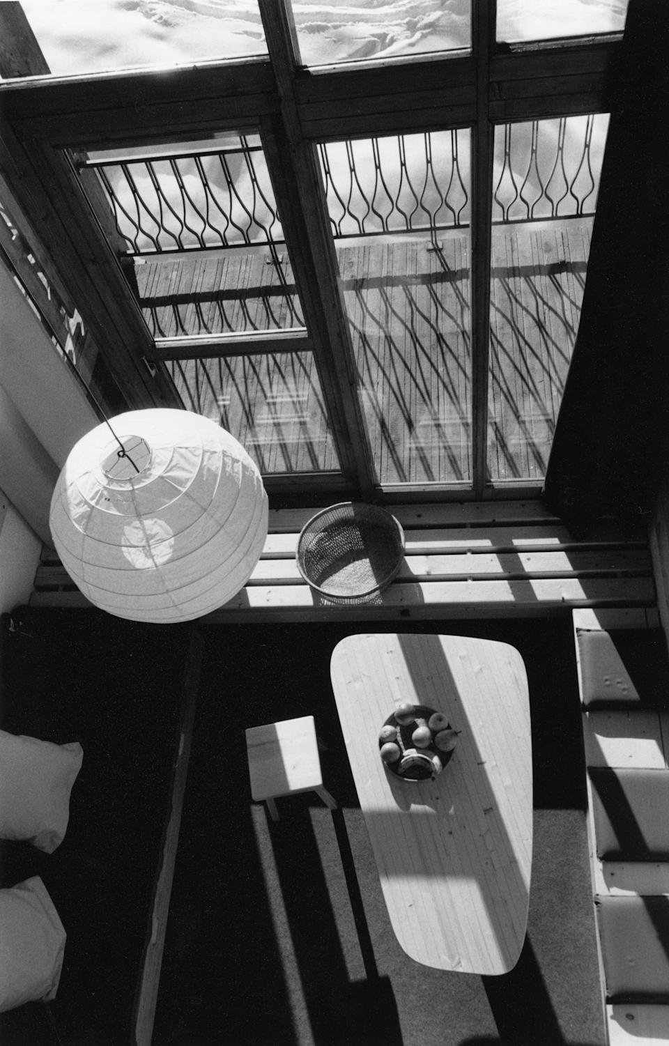 Charlotte Perriand, Aiguille Grive residence in Les Arcs, 1800, 1986-89.  Perenette Perriand-Barsac (AChP/ADAGP, Paris and DACS, London 2021)