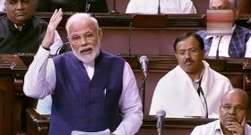 PM Modi for distinction between checking and Clogging; Singh red-flags 'undermining' RS