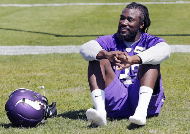 "Some fantasy owners are willing to give up their shoes to own <a class=""link rapid-noclick-resp"" href=""/nfl/players/30154/"" data-ylk=""slk:Dalvin Cook"">Dalvin Cook</a> this year. (AP)"