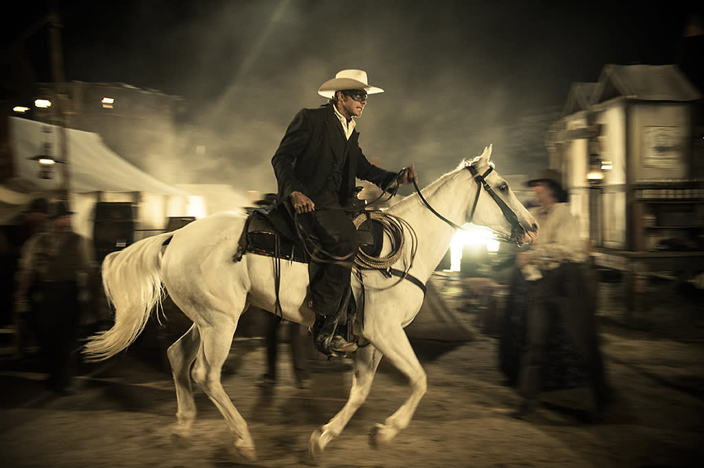 """Armie Hammer in Walt Disney Pictures' """"The Lone Ranger"""" - 2013"""