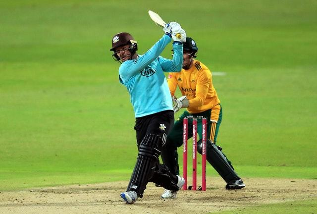 Jason Roy impressed for Surrey at the top of the order