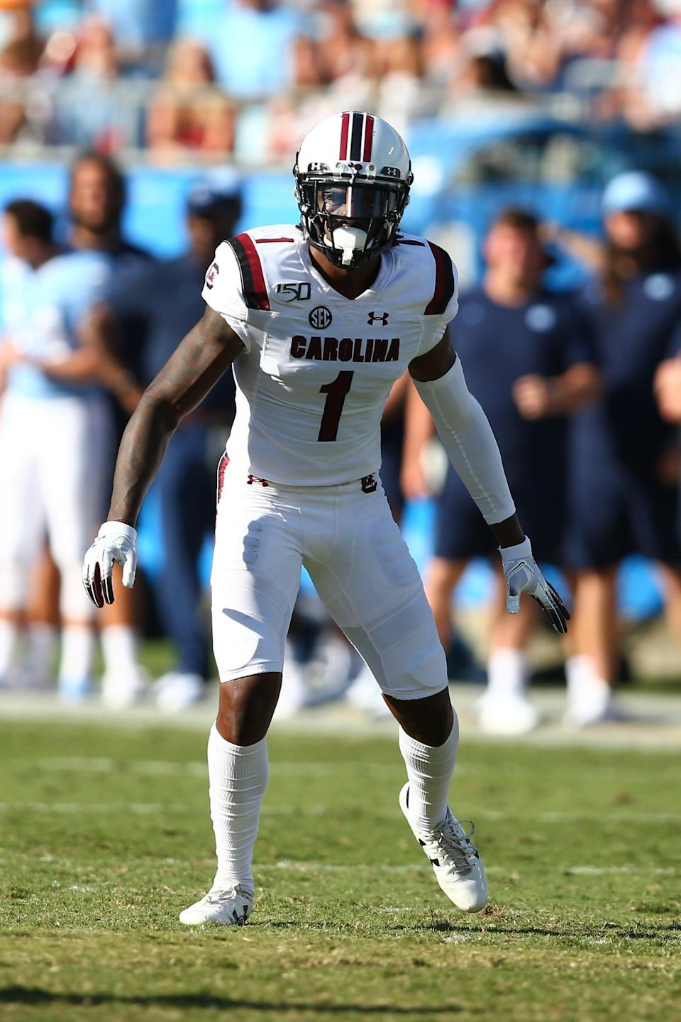 South Carolina defensive back Jaycee Horn
