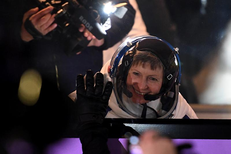 Peggy Whitson set to break Suni Williams' spacewalking record