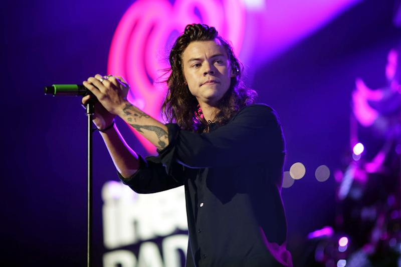 Big reveal: Harry Styles has confirmed details of his debut solo single: Christopher Polk/Getty
