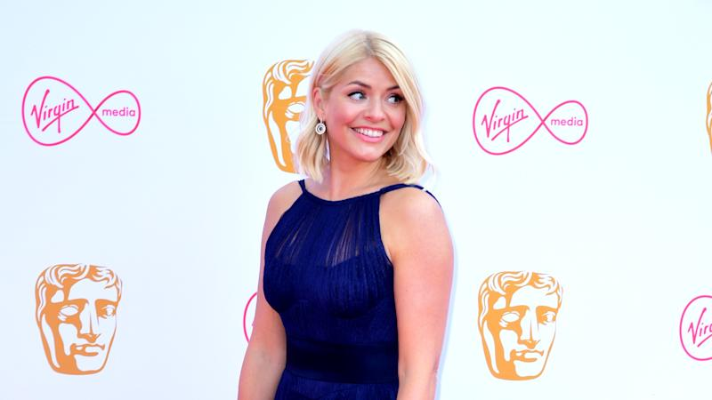 Holly Willoughby reveals son's shark prank in holiday photo