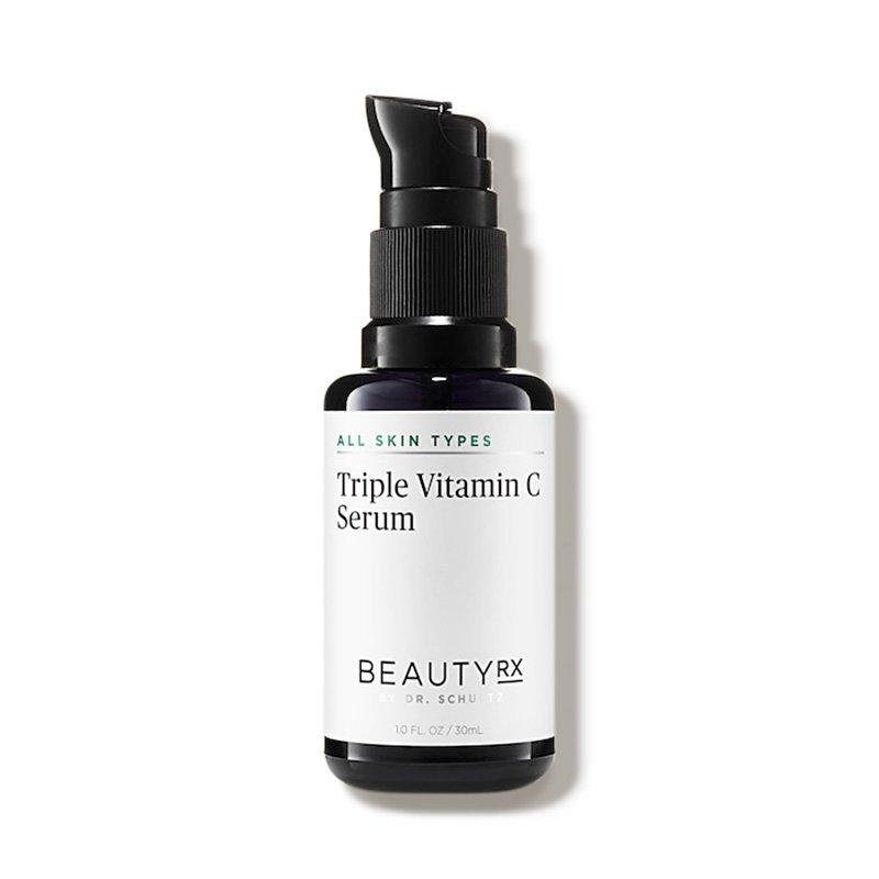 """<p>This powerful serum packs three types of vitamin C into one product for triple the brightening and antioxidant power. It also contains Japanese green tea leaf extract and vitamin E to help calm inflammation and hydrate skin.</p> <p><strong>To buy:</strong> $95; <a href=""""http://www.anrdoezrs.net/links/7876406/type/dlg/sid/RS%2C5VitaminCSerumsforGlowingSkin%2Cagouras%2CSKI%2CDAI%2C534508%2C201909%2CI/https://www.dermstore.com/product_Triple+Vitamin+C+Serum_73513.htm"""" target=""""_blank"""">dermstore.com</a>.</p>"""