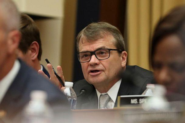 PHOTO: Rep. Mike Quigley questions former special counsel Robert Mueller, as he testifies before the House Intelligence Committee hearing on his report on Russian election interference, on Capitol Hill, in Washington, D.C., July 24, 2019. (Andrew Harnik/AP)