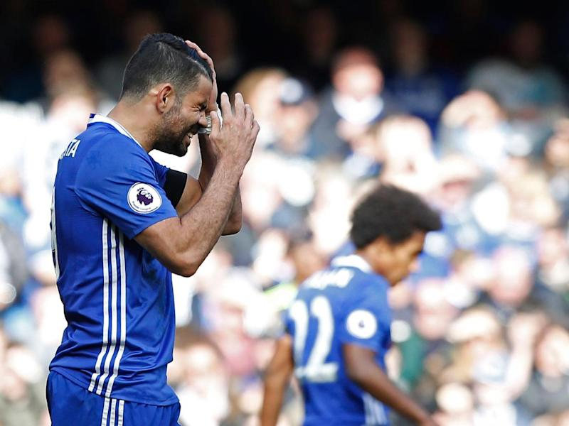 Diego Costa has been out of form lately (AFP)