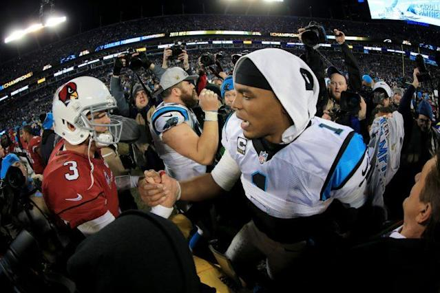 Could we see Carson Palmer and Cam Newton meet in the NFC championship game again this season? (Getty Images)