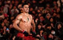 Tongan flagbearer Pita Taufatofua went shirtless in freezing conditions at the closing ceremony of the Pyeongchang 2018 Winter Olympics