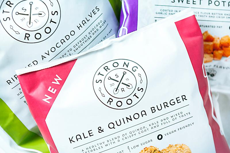 Strong Roots, the UK's fastest-growing food brand, has raised $18m in funding. Photo: Strong Roots