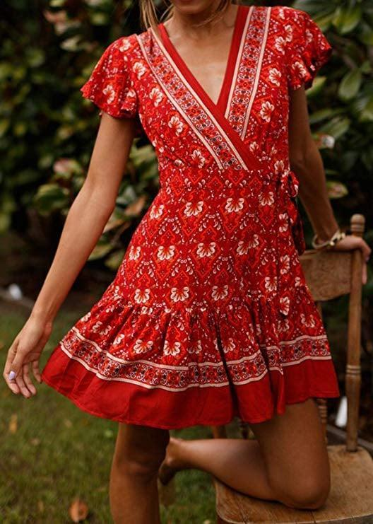 <p>This popular <span>R.Vivimos Wrap Dress</span> ($20) is a guaranteed crowd-pleaser, perfect for picnics.</p>