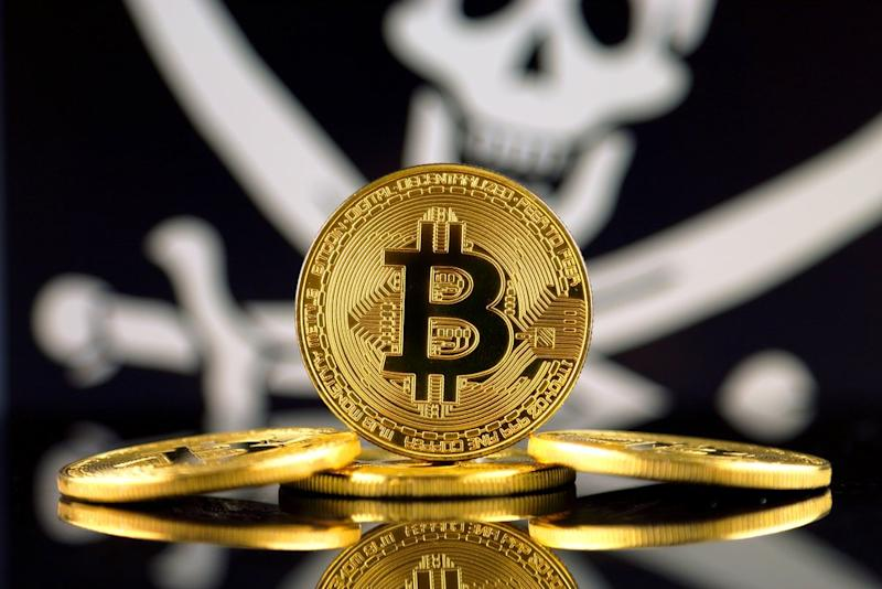The regulatory pirates in the Trump-run FinCEN fined a peer-to-peer Bitcoin trader $35,000 because he didn't register his crypto business. | Source: Shutterstock