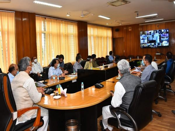 Uttarakhand Chief Minister Trivendra Singh Rawat held a meeting with district magistrates on Saturday.