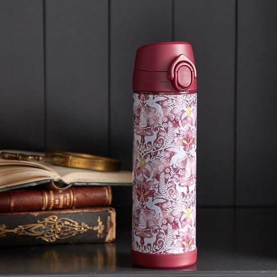 """<p>Stainless steel, leakproof, and BPA-free, you can't go wrong picking up the <a href=""""https://www.popsugar.com/buy/Harry-Potter-Magical-Damask-17-oz-Water-Bottle-526842?p_name=Harry%20Potter%20Magical%20Damask%2017%20oz.%20Water%20Bottle&retailer=pbteen.com&pid=526842&price=25&evar1=buzz%3Auk&evar9=44044681&evar98=https%3A%2F%2Fwww.popsugar.com%2Fentertainment%2Fphoto-gallery%2F44044681%2Fimage%2F46975571%2FHarry-Potter-Magical-Damask-17-oz-Water-Bottle&list1=shopping%2Cgifts%2Cgift%20guide%2Charry%20potter%2Cgifts%20under%20%2425%2Cgifts%20under%20%24100%2Cgifts%20under%20%2450%2Cgifts%20under%20%2475%2Cgifts%20under%20%24200&prop13=api&pdata=1"""" rel=""""nofollow"""" data-shoppable-link=""""1"""" target=""""_blank"""" class=""""ga-track"""" data-ga-category=""""Related"""" data-ga-label=""""https://www.pbteen.com/products/harry-potter-magical-damask-17-oz-water-bottle-maroon/?pkey=charry-potter-shop&amp;isx=0.0.62"""" data-ga-action=""""In-Line Links"""">Harry Potter Magical Damask 17 oz. Water Bottle</a> ($25).</p>"""