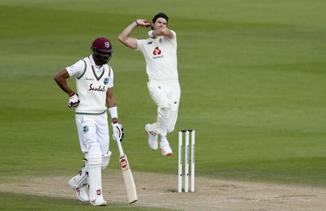 James Anderson went wicketless in two of his innings against the West Indies