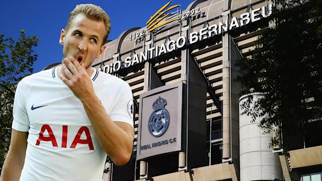 Harry Kane is wanted by Real Madrid