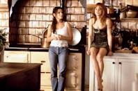 """<p>The story of two sisterly witches is a love story above all, but it's still got a <a class=""""link rapid-noclick-resp"""" href=""""https://www.popsugar.com/Halloween"""" rel=""""nofollow noopener"""" target=""""_blank"""" data-ylk=""""slk:Halloween"""">Halloween</a> scene, not to mention the valuable lesson of putting the lime in the coconut.</p> <p><a href=""""https://play.hbomax.com/page/urn:hbo:page:GXjtShgurcY7CZgEAABBM:type:feature"""" class=""""link rapid-noclick-resp"""" rel=""""nofollow noopener"""" target=""""_blank"""" data-ylk=""""slk:Watch Practical Magic on HBO Max here!"""">Watch <b>Practical Magic</b> on HBO Max here!</a></p>"""