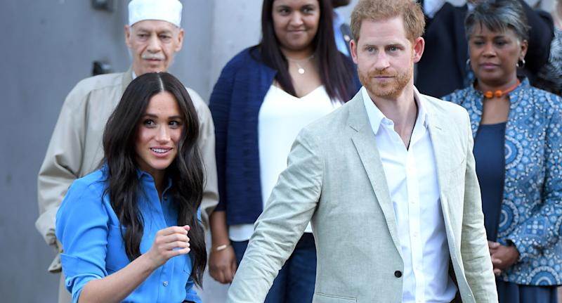 Meghan Markle and Prince Harry (Photo by Karwai Tang/WireImage)