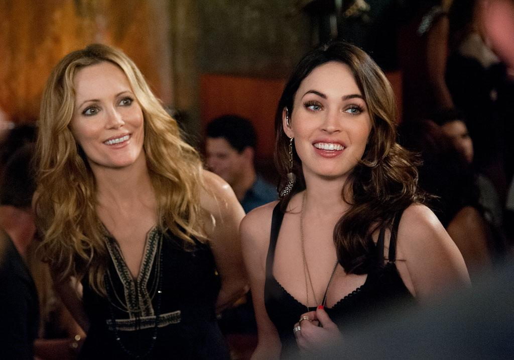 "Leslie Mann and Megan Fox in Universal Pictures' ""This is 40"" - 2012"