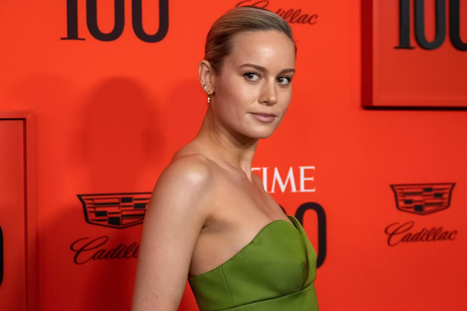 Brie Larson attends the 2019 Time 100 Gala, celebrating the 100 most influential people in the world, at Frederick P. Rose Hall, Jazz at Lincoln Center on Tuesday, April 23, 2019, in New York. (Photo by Charles Sykes/Invision/AP)