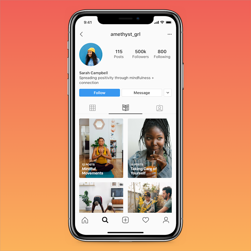 Instagram's Guides will have their own section, much like IGTV.