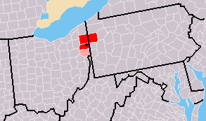 The Mahoning Valley, also known as the Steel Valley, is an area of northeast Ohio that features Youngstown at its center. (Photo: Wikipedia)