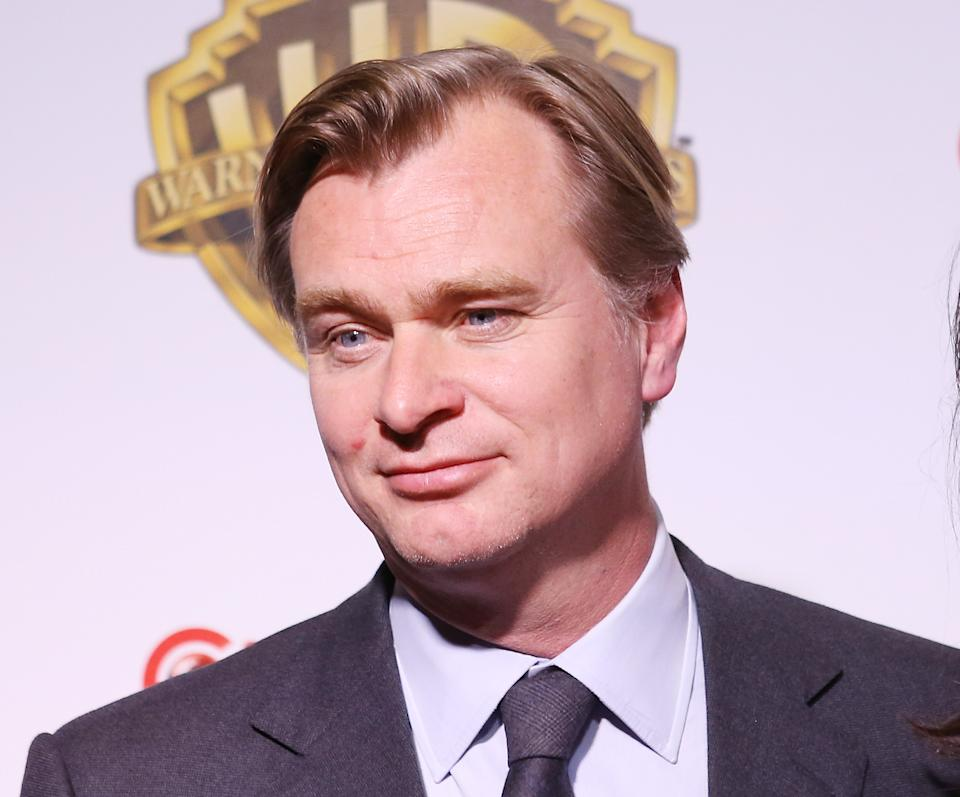 LAS VEGAS, NV - MARCH 29:  Christopher Nolan attends the CinemaCon 2017 - Warner Bros. Pictures presentation held at The Colosseum at Caesars Palace during CinemaCon, the official convention of the National Association of Theatre Owners, on March 29, 2017 in Las Vegas, United States.  (Photo by Michael Tran/FilmMagic)