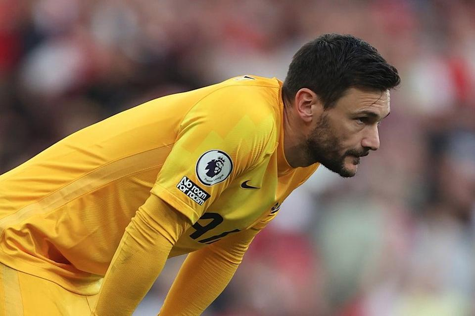 Hugo Lloris cut a frustrated figure after Tottenham's defeat by Arsenal  (Getty Images)