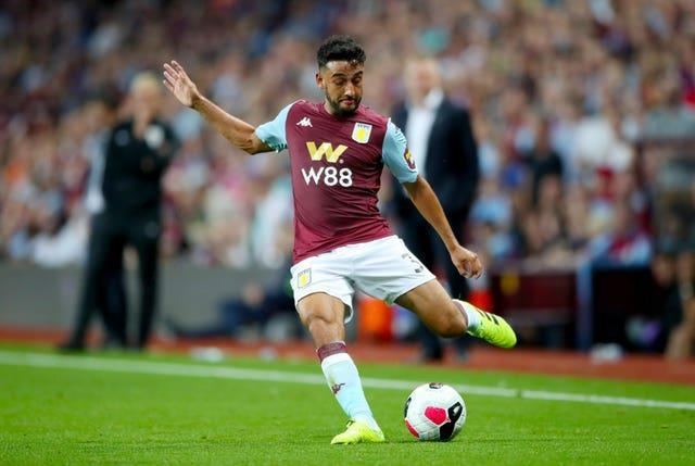 Aston Villa and Wales defender Neil Taylor is also part of the AIMS initiative