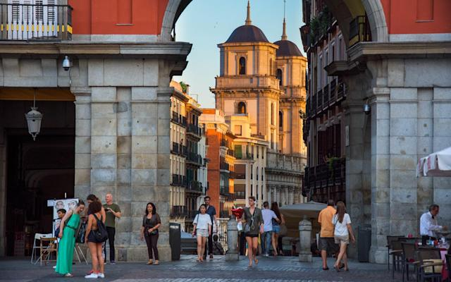 <p><b>Spain</b><br> Hospitality: Tip 5-10 per cent in a restaurant, and round up to the nearest €1 in a bar.<br> Taxis: Tip 10 per cent of the total fare plus a little extra if the driver helped with your bags.<br> Hotel: Tip the porter €0.50 per bag, tip room service €0.50, tip the doorman €0.50 if they hail a cab and tip housekeeping staff about €0.50 per night (although tipping housekeeping isn't expected).<br> (Travel + Leisure) </p>