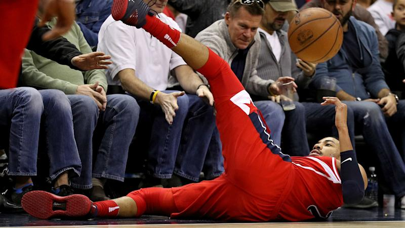 Wizards injury concerns mount as Porter leaves with ankle sprain