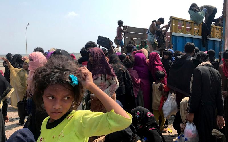Destitute Rohingya refugees have fled squalid camps only to be left starving at sea - Suzauddin Rubel/AP