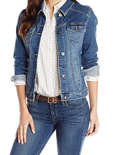 """<p><strong>Wrangler Authentics</strong></p><p>amazon.com</p><p><strong>$29.99</strong></p><p><a href=""""https://www.amazon.com/dp/B012OV0Q4M?tag=syn-yahoo-20&ascsubtag=%5Bartid%7C2141.g.37148346%5Bsrc%7Cyahoo-us"""" rel=""""nofollow noopener"""" target=""""_blank"""" data-ylk=""""slk:Shop Now"""" class=""""link rapid-noclick-resp"""">Shop Now</a></p><p>Come rain or shine, a classic denim jacket will always have your back. And this stylish take on the wardrobe staple is designed to complete any look. The Wrangler Authentics denim jacket <strong>has a lot of stretch and comes in five different colors</strong>, allowing you to mix and match when planning a date night outfit or <a href=""""https://www.prevention.com/fitness/workout-clothes-gear/g36840253/best-athleisure-brands/"""" rel=""""nofollow noopener"""" target=""""_blank"""" data-ylk=""""slk:workout fit"""" class=""""link rapid-noclick-resp"""">workout fit</a> for the gym. You'll also find the brand's western """"W' embroidery on the chest pockets.</p>"""
