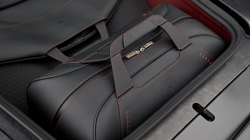 The McLaren GT luggage collection