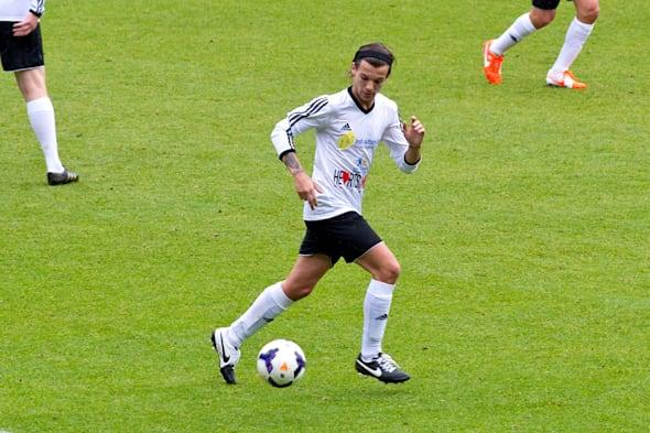 Celebrity Sightings At Niall Horan's Charity Football Challenge May 26, 2014